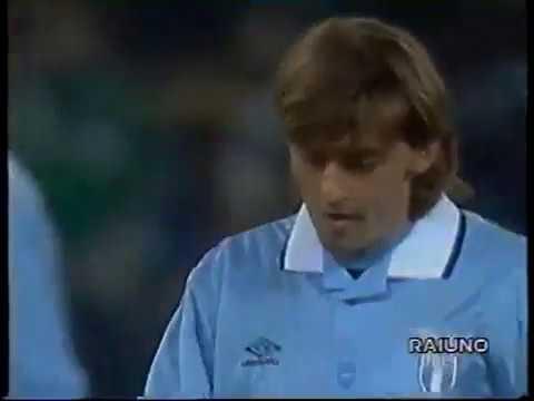 Lazio - Borussia Dortmund / Uefa Cup 1994-1995 (Signori, Boksic, Riedle, Di Matteo, Casiraghi)