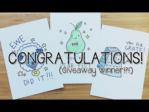 6 diy congratulations puns