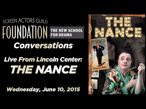 Conversations with  Nathan Lane of LIVE FROM THE LINCOLN CENTER: THE NANCE
