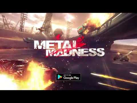 METAL MADNESS PvP: Car Shooter & Twisted Action - Apps on