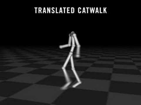 Style Translation for Human Motion (Part 1)