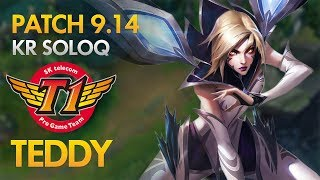 SKT T1 Teddy - Kai'Sa Bot Lane - KDA 22/1/2