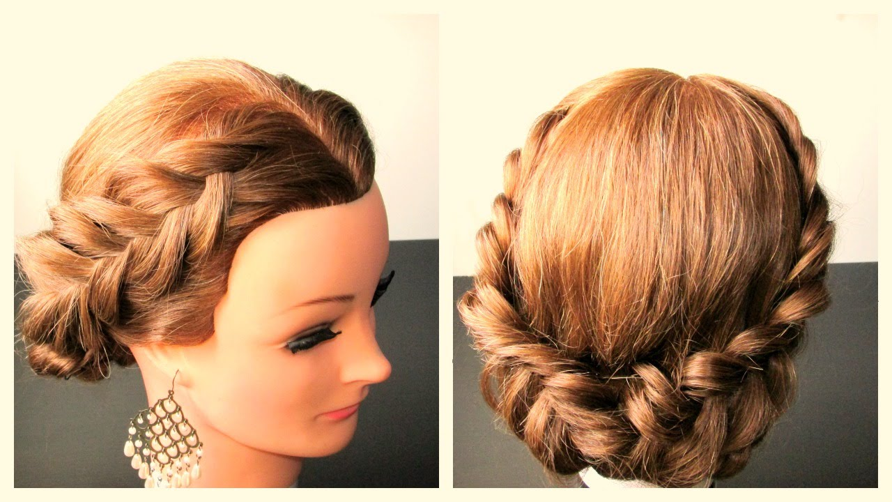 Holiday Braided Hairstyle, Hairstyle Ideas For Long ...