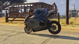 Infinite Stoppie (GTA 5 Glitch)