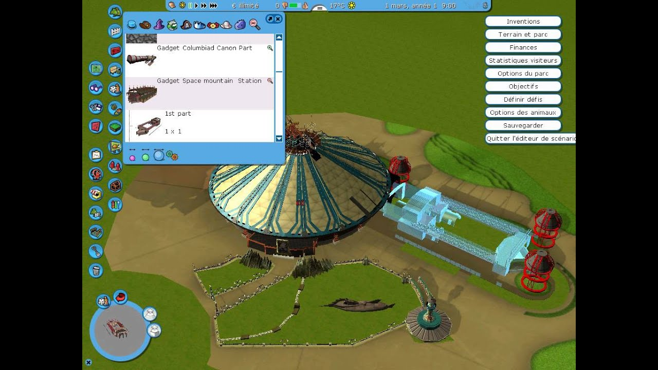 pack space mountain rct3