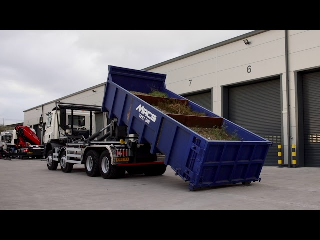 VDL 8x4 hook loader video
