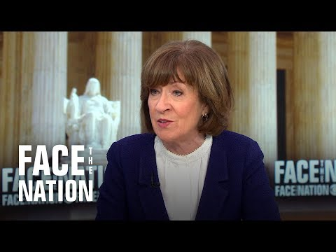 "Susan Collins: Kavanaugh vote ""ranks right up there"" with the most difficult votes she has cast"