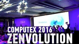 Asus Zenvolution: Zenfone 3 и Zenbook 3 на Computex 2016