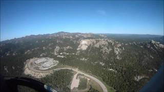 Helicopter Flight to Mount Rushmore in a Jet Ranger