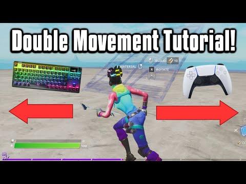 How To Get Double Movement In Fortnite! (ReWASD/Keys2xInput)