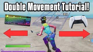 How To Get Double Movement In Fortnite! (ReWASD/Keys2xInput)