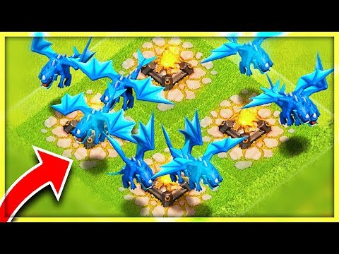 OMG! *ONLY USING* ELECTRO DRAGONS! | Clash of Clans NEW Update!