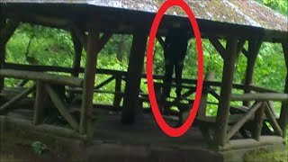 [REAL] Slenderman Sighting August 2011 in the Forest !!!