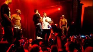 Little boy raps with Game at concert (Martians vs Goblins) @ Melkweg Amsterdam 11-12-2011