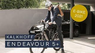 Trekking E-Bike: Endeavour 5+ | Entdecke das neue Plus+ an Möglichkeiten | KALKHOFF 2021