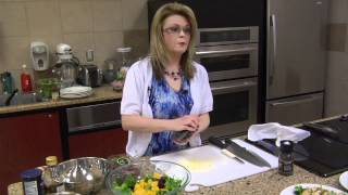 Fruit Salad With Blueberry Dressing With Guest Chef Lisa Smith