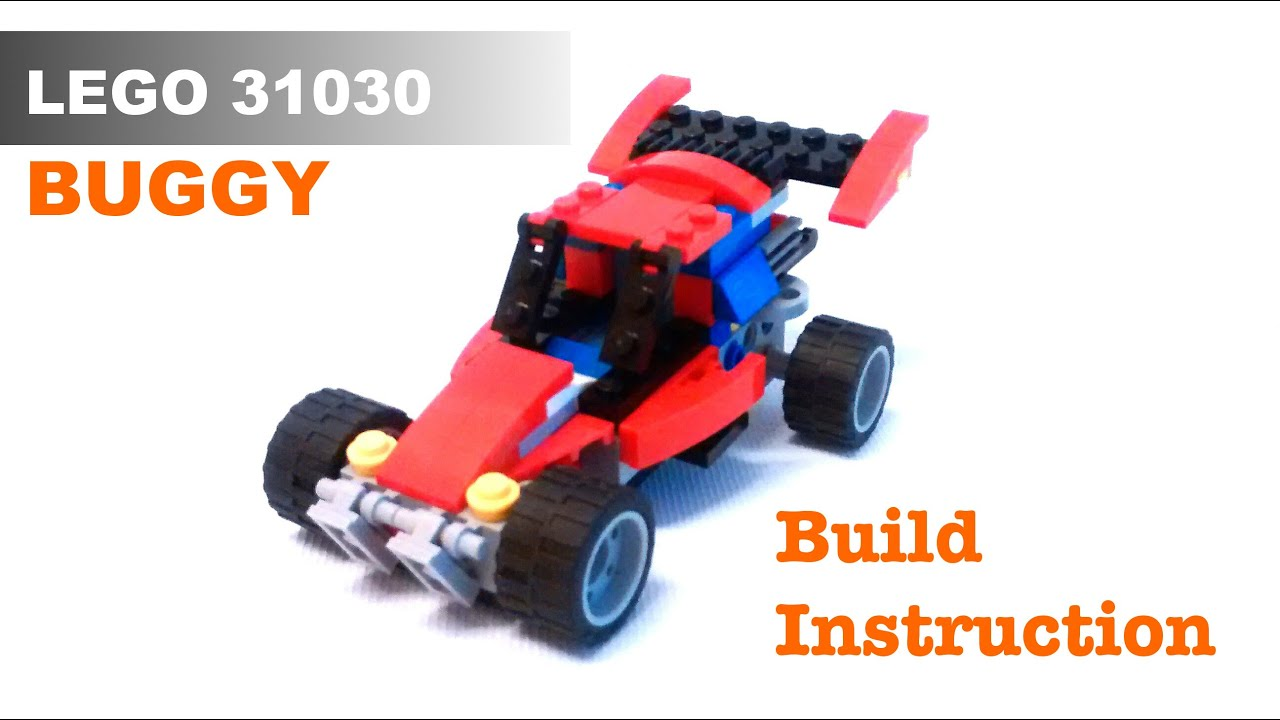 Lego Buggy Alternate Build From Set 31030 Youtube