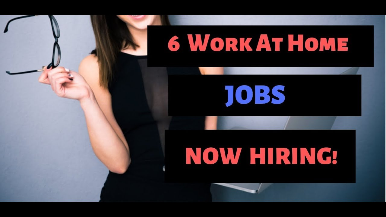 6 Work From Home jobs NOW HIRING  High Paying  Spring/Summer
