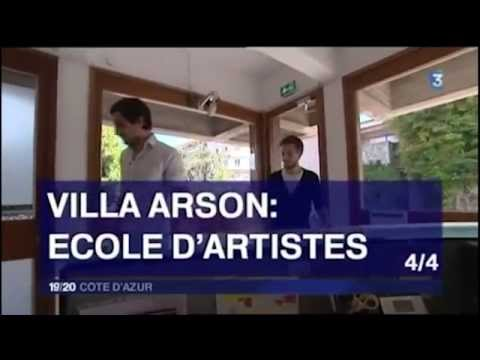Villa Arson 4/4 - France 3 19/20 Côte d'Azur, 30 octobre 2014