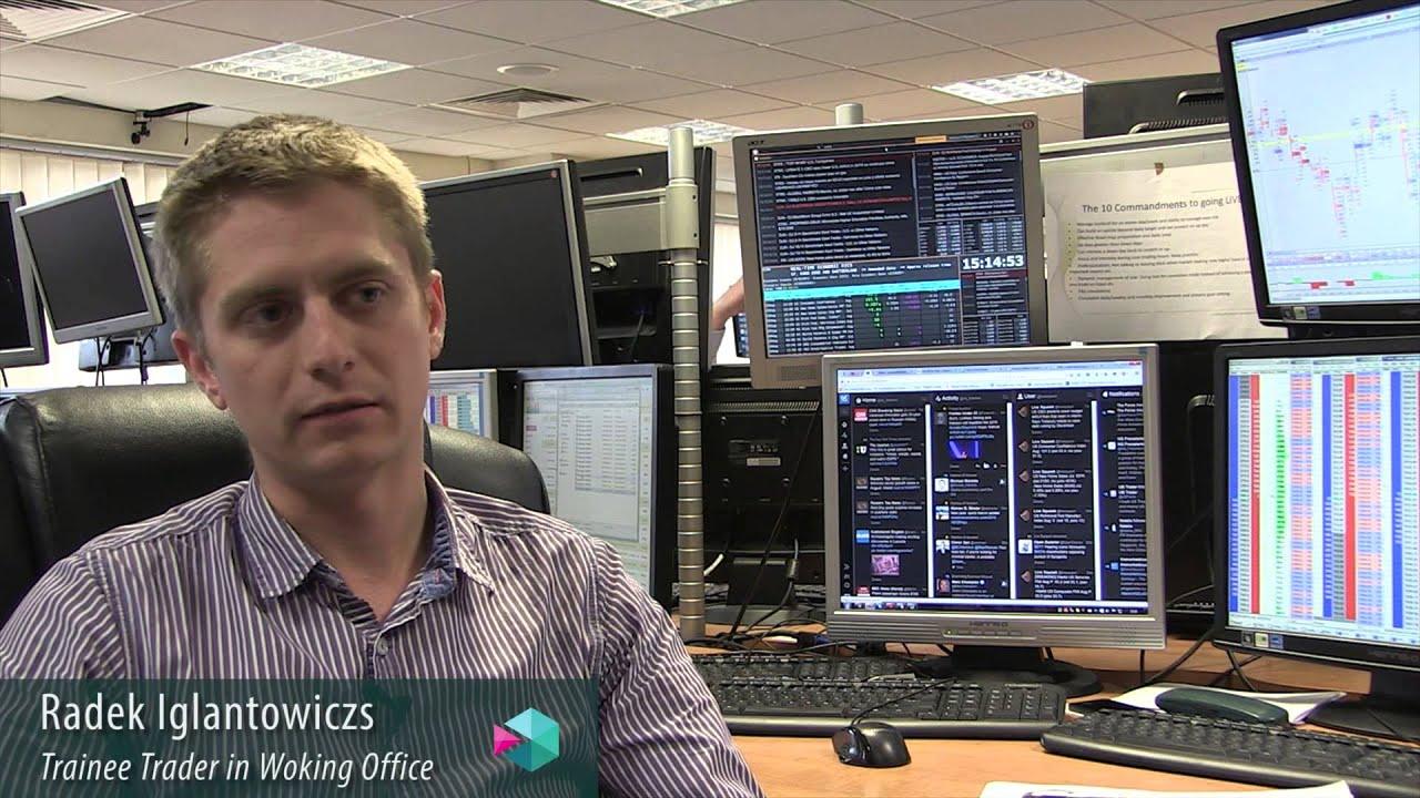 Trainee forex trader