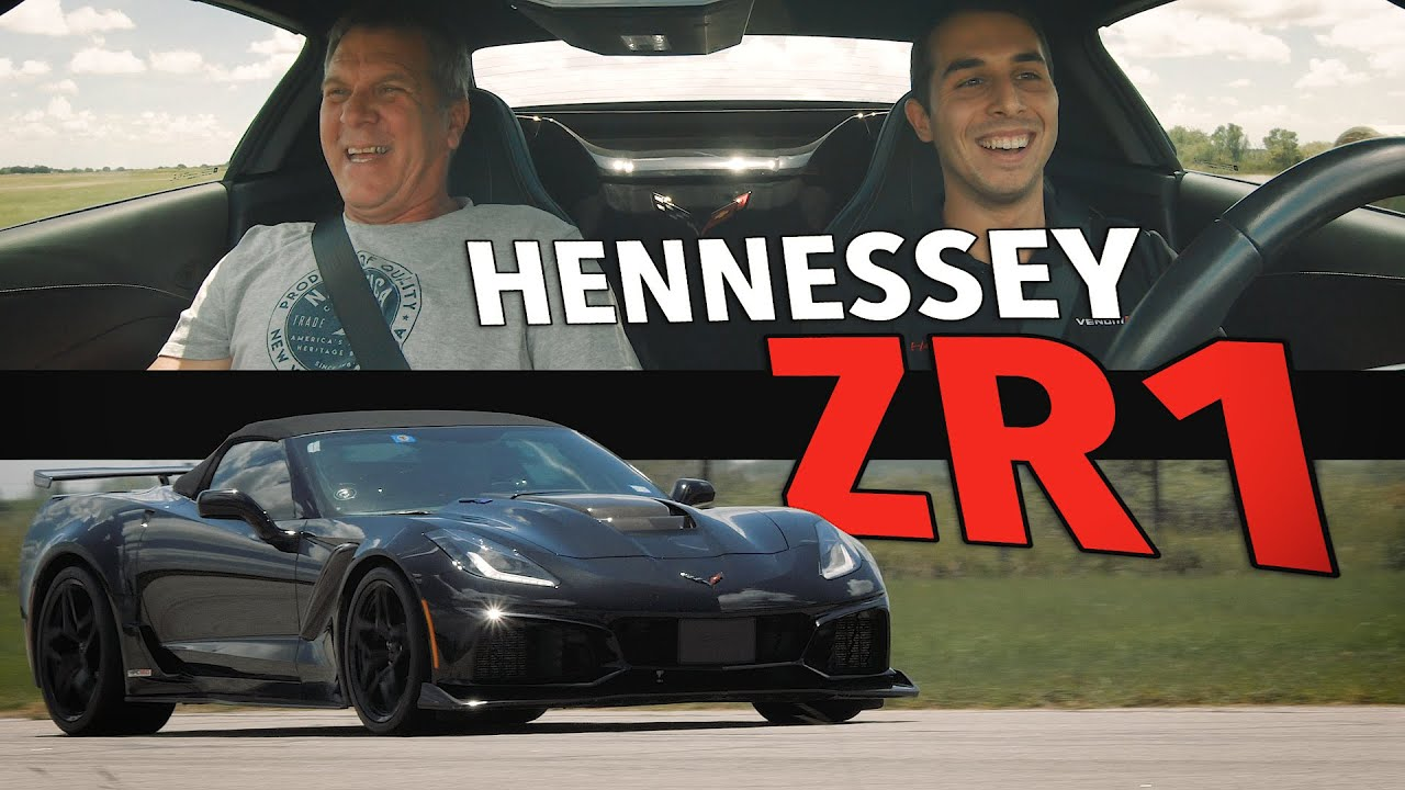 850 HP C7 ZR1 by Hennessey Performance | Customer Delivery!