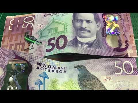 Counting Money New Zealand Dollar (NZD)