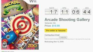 Arcade Shooting Gallery Wii Countdown