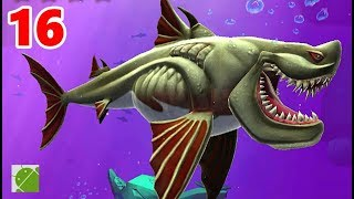 Hungry Shark Heroes | Cladoselache - Android Gameplay FHD Part 16