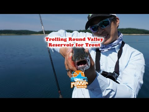 Trolling Round Valley Reservoir For Rainbow Trout And Lakers
