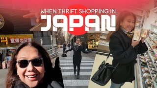 When Thrift Shopping in Japan...