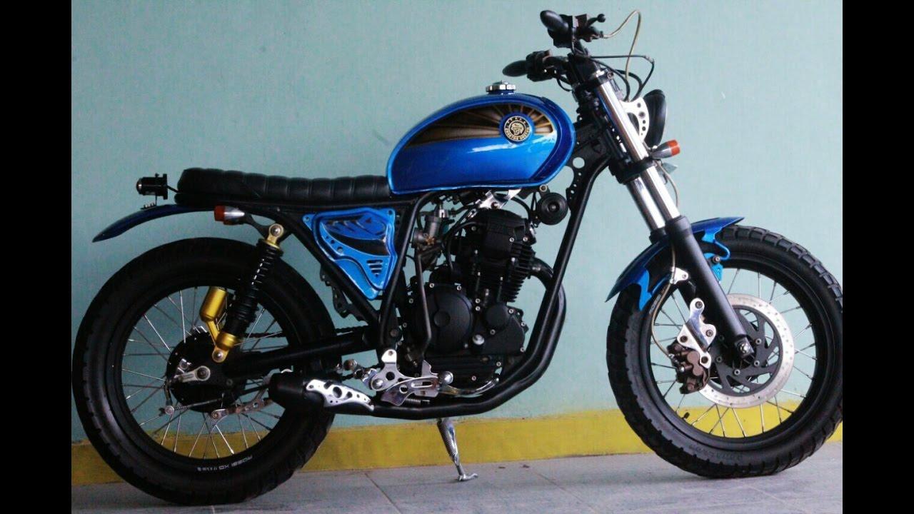 Modifikasi Yamaha Scorpio 225 Custom Jap-style Tracker