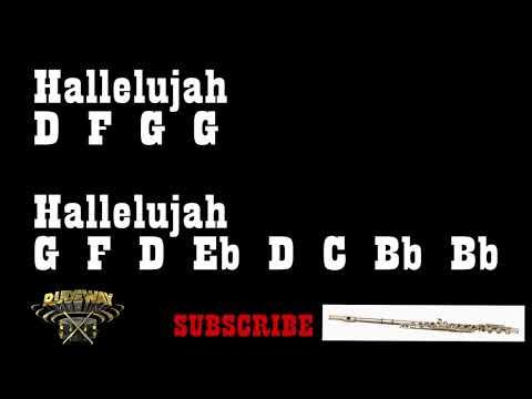 Hallelujah - Leonard Cohen (Flute Notes) {Rudeway}