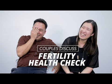 Couples Discuss Fertility Health Check