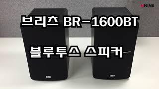 브리츠 BR 1600BT 2채널 블루투스 스피커
