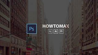 Text cutout effect tutorial -Photoshop cc 2017