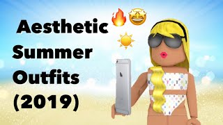 Aesthetic Summer Outfits Roblox | 2019 |