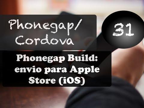 Phonegap e Cordova 31: Phonegap Build + enviando app para Apple Store (iOS)