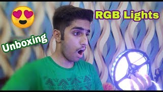 RGB Led Strips Lights Unboxing + Review | 2018