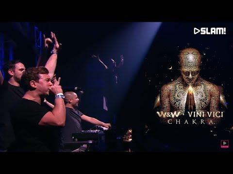 W&W x Vini Vici - Chakra (Wildstylez Remix) LIVE @SLAM! 2017