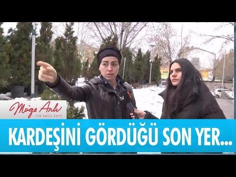 Çiğdem Çakırer kız kardeşini son gördüğü yeri gösteriyor - Müge Anlı ile Tatlı Sert 25 Ocak 2019