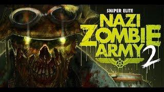 Sniper Elite Nazi Zombie Army 2 Gameplay PC
