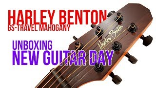 Unboxing Harley Benton (GS Travel Mahogany)