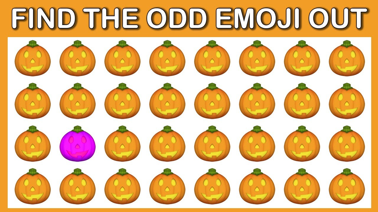 HOW GOOD ARE YOUR EYES #146 l Find The Odd Emoji Out l Emoji Puzzle Quiz
