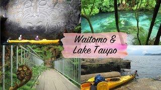 NEUSEELAND VLOG #4 - Blauer Fluss & Kayak Adventure