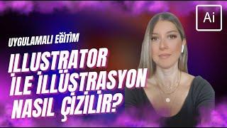 Kahve Makinesi İllüstrasyon Çizimi - Adobe Illustrator