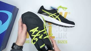 ASICS Stormer 2 - Black White - Unboxing | Walktall