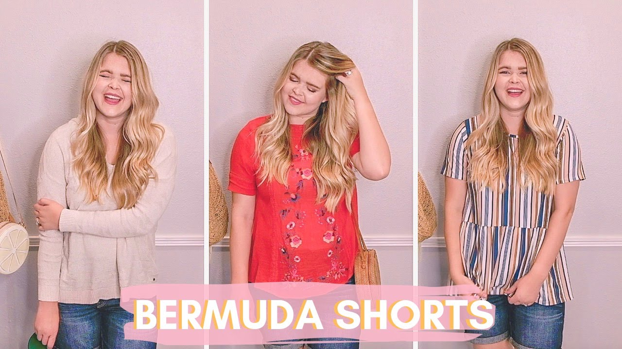 [VIDEO] - HOW TO STYLE BERMUDA SHORTS   10 Casual Outfit Ideas for Summer 1