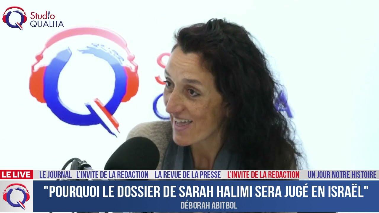 """""""Pourquoi le dossier de Sarah Halimi sera jugé en Israël"""" - L'invité du 25 avril 2021"""