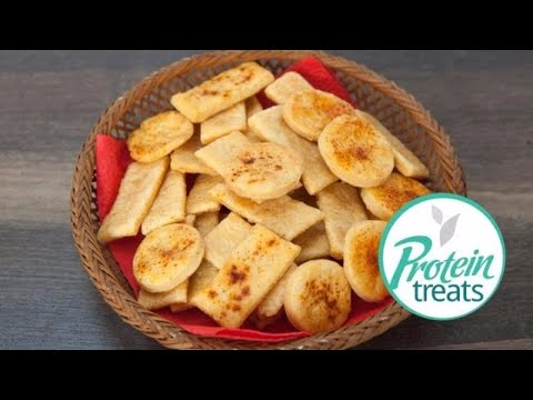 Parmesan Garlic Crackers Protein Treats by Nutracelle