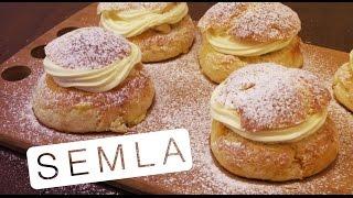 Semla (Pãozinho Doce com Amêndoas e Chantilly) - Confissões de uma Doceira Amadora